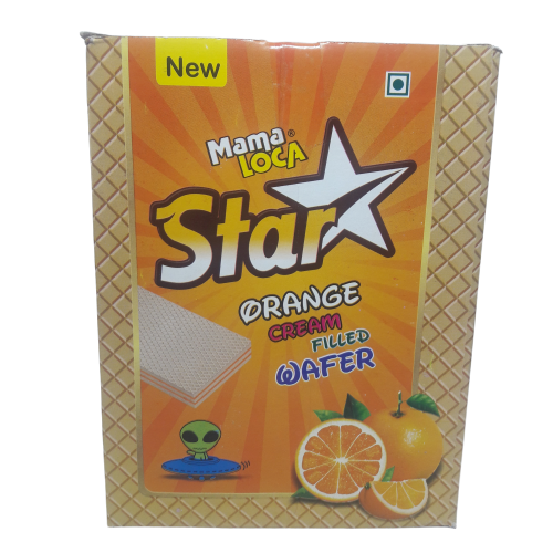 STAR ORANGE WAFFER 5/-