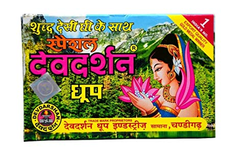 DEVDARSHAN DHOOP 25/- Pcs.12