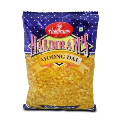 HALDIRAM MOONG DAL 10/- PCS-10