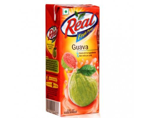 REAL GUAVA 200ML 20/- Pcs-30