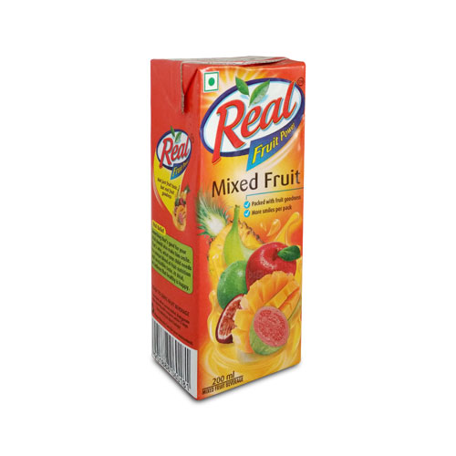 REAL MIX FRUIT 200ML 20/- Pcs-30