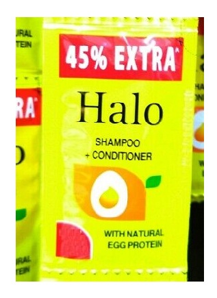 HALO SHAMPOO+CONDITIONER 1/-